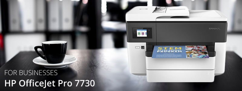 Inkjet printers are now perfect for businesses too such as this HP Officejet Pro 7730